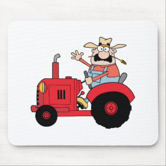 Happy Farmer Mouse Pad