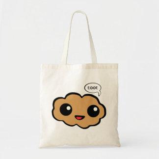 Happy Fart Budget Tote Bag