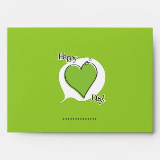 Happy Fart Valentine - Greeting Card Envelope