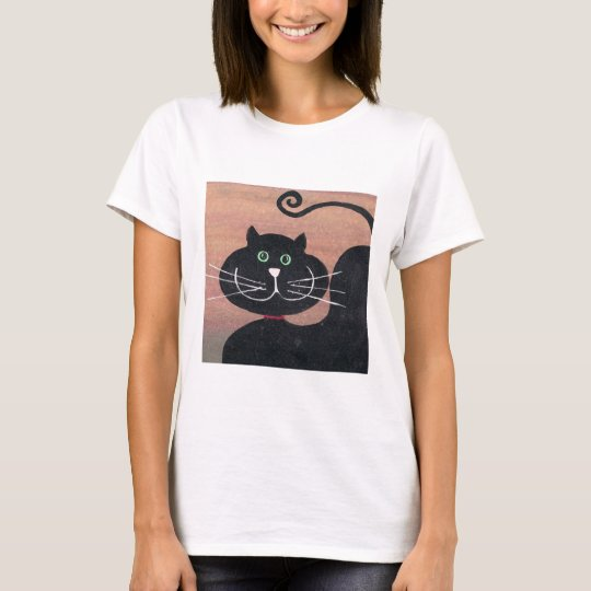 Happy, Fat and Black T-Shirt