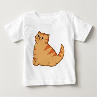 Happy Fat Orange Cat Infant T-shirt