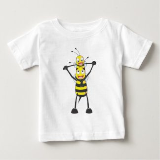 Happy Father and Son Bee Infant T-shirt