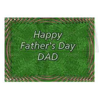 Happy Father's Day Dad Card