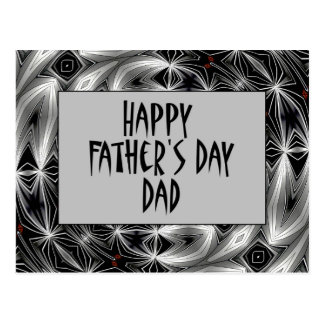 Happy Father's Day Dad Postcard