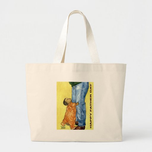 Happy Father Day Canvas Bag