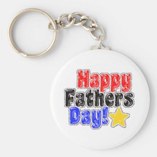Happy father day keychain