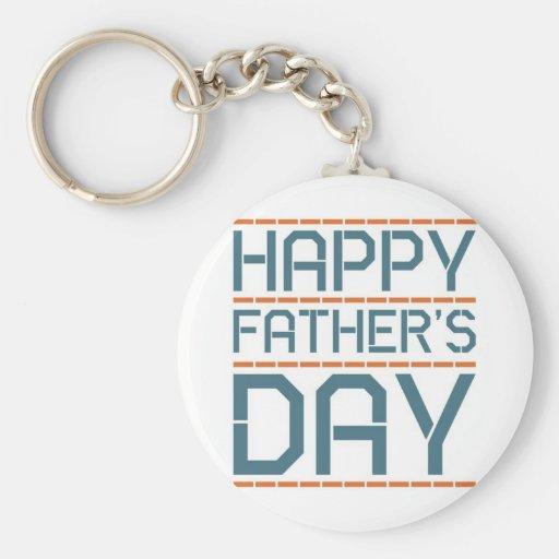 Happy father day! keychains