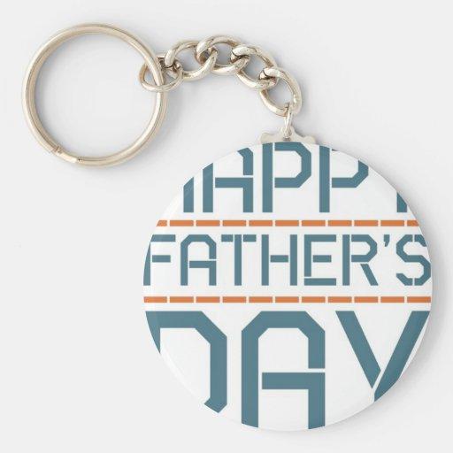Happy father day! keychain