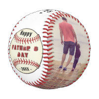 Happy Father`s Day, Best Dad Ever Photo Collage Baseball