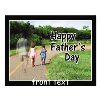 Happy Father s Day to Dad Away From Home Personalized Invitations
