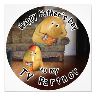 Happy Father s Day to my TV Partner -CouchPotatoes Announcement