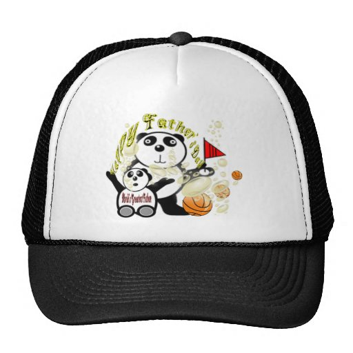 Happy Father's Day World's Greatest Father Hats