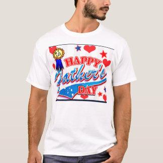 Happy Father T-Shirt By Mojisola A Gbadamosi Okubu