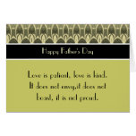 Happy Father's Day 1 Corinthians 13 Love Scripture Cards