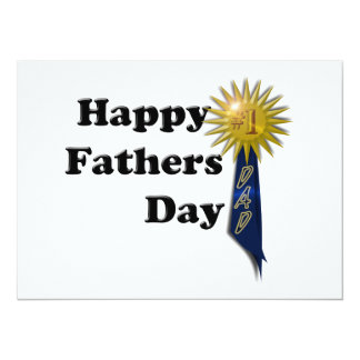 Happy Father's Day - #1 Dad Card