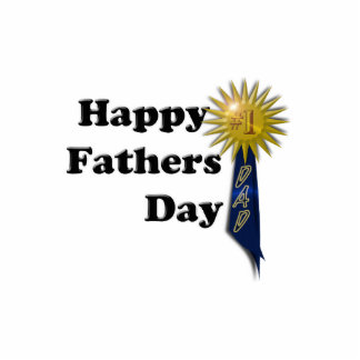 Happy Father's Day - #1 Dad Standing Photo Sculpture