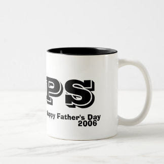 Happy Father's Day, 2006, POPS Two-Tone Coffee Mug