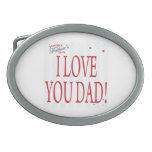 Happy Fathers Day 22.png Belt Buckles