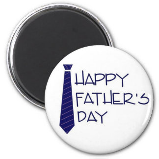 Happy Fathers Day 2 Inch Round Magnet
