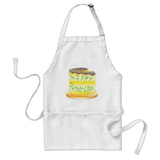 Happy Fathers Day Adult Apron