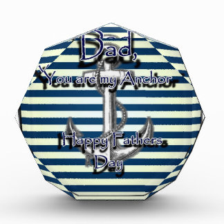 Happy Fathers Day Anchor Award