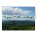 Happy Father's Day Appalachian Mountains Card
