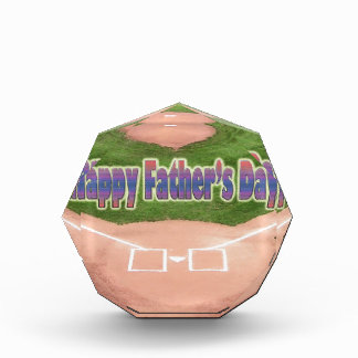 Happy Fathers Day Baseball Award