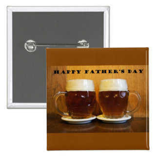 Happy Fathers Day Beer Tankards Button
