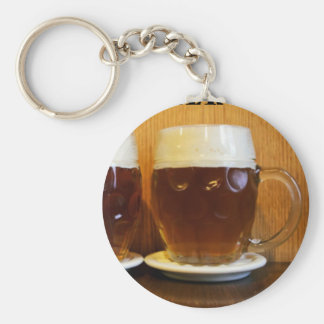 Happy Fathers Day Beer Tankards Keychain