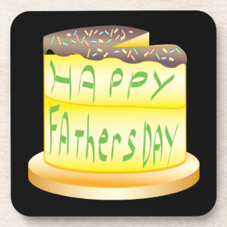 Happy Fathers Day Beverage Coasters