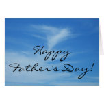 Happy Father's Day Blue Sky Card