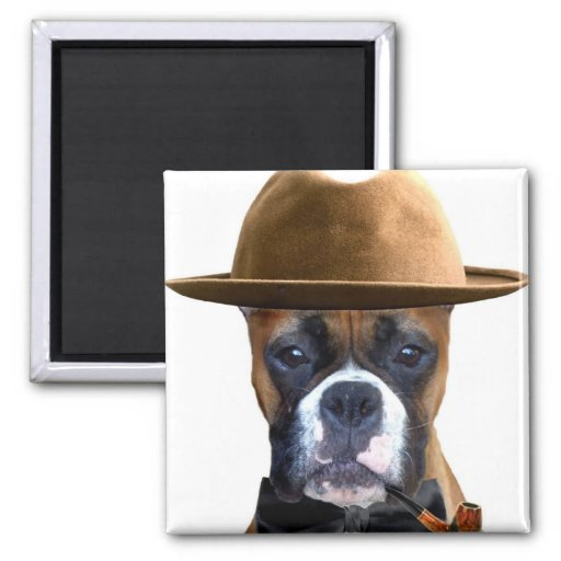 Happy Father's Day Boxer magnet