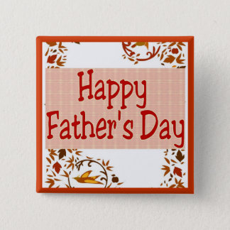 Happy Father's Day Button