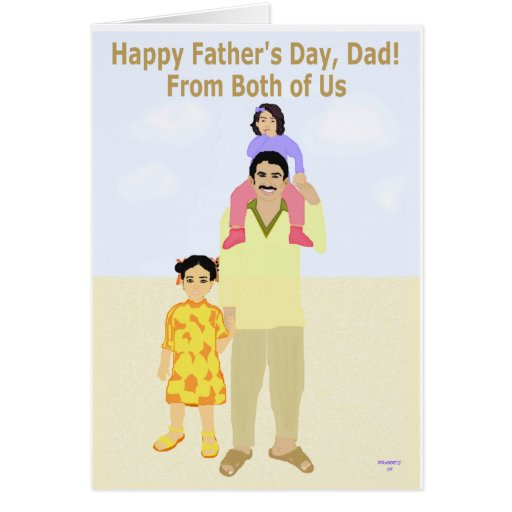 Happy Father's Day Card from the Two of Us