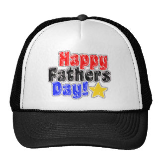 Happy Father's Day Cards Trucker Hat