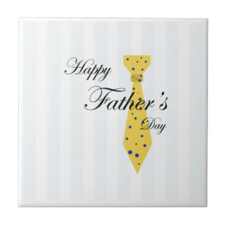 Happy Fathers Day Ceramic Tile