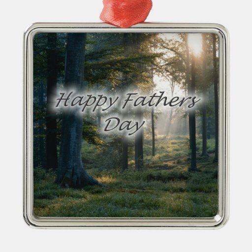 Happy Fathers Day Christmas Ornament