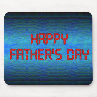 Happy Father's Day - Computer Geek Mouse Pad