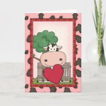 Happy Father's Day - Cow Card