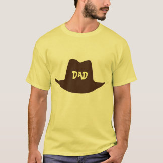 Happy Fathers Day Cowboy Dad T-Shirt