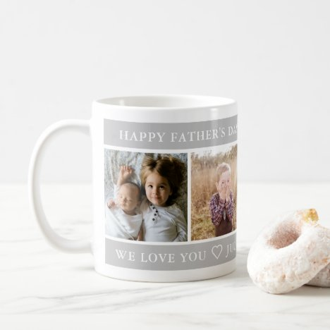 Happy Father's Day Custom Coffee Mug