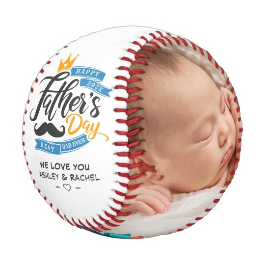 Happy Father's Day Custom Photos Baseball