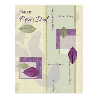 Happy Father's Day Customizable Postcards