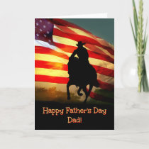 Happy Father's Day Dad Card, Cowboy Country Cards