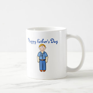 Happy Father's Day Dad with smiling father Mugs