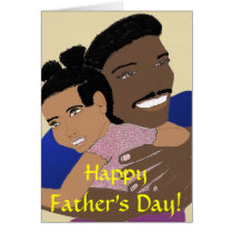 Happy Father's Day, daddy Card