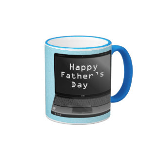 Happy Fathers Day Dads Laptop Mugs