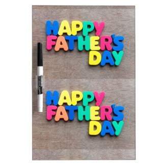 Happy Father's Day Dry-Erase Board