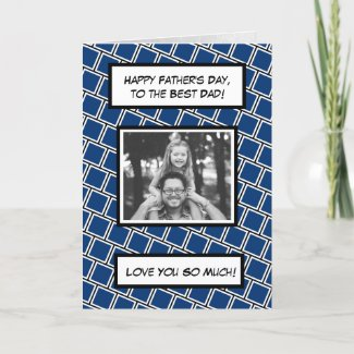 Happy Father's Day, Family Photo Card