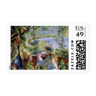 Happy Father's Day. Fine Art Postage Stamps